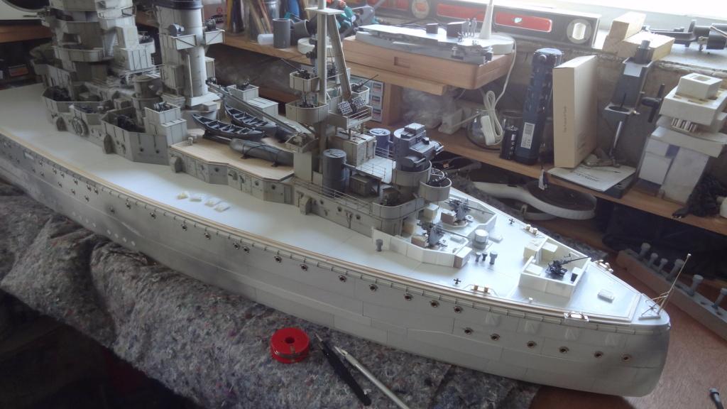 Des nouvelles d'un HMS Rodney au 1/72° - Page 2 Dsc07327