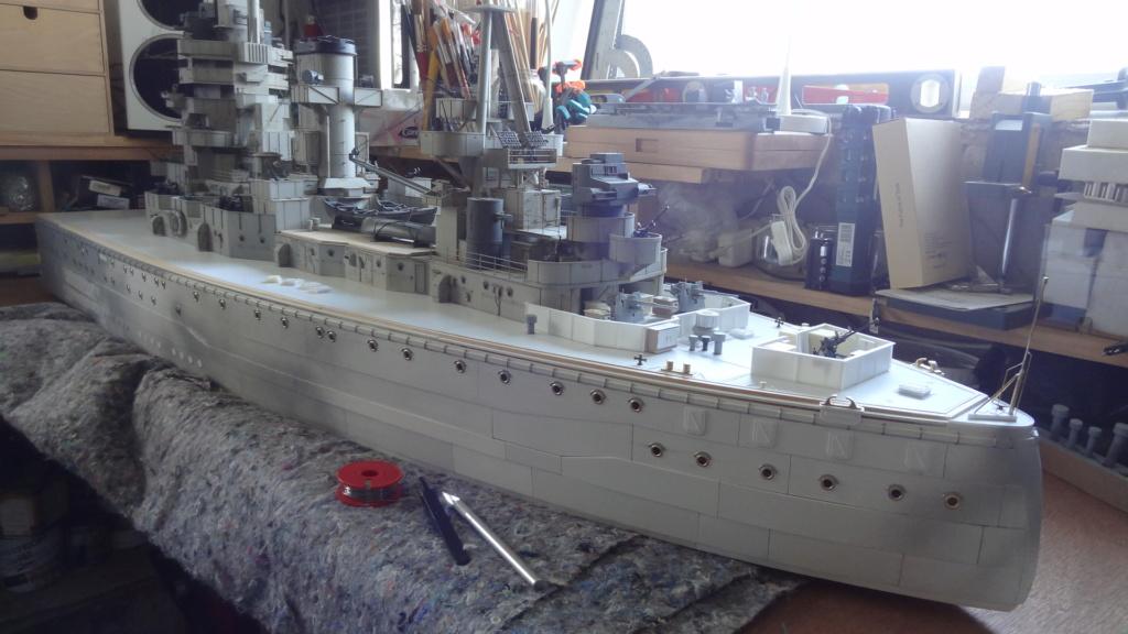 Des nouvelles d'un HMS Rodney au 1/72° - Page 2 Dsc07328