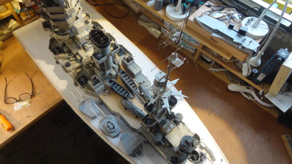 Des nouvelles d'un HMS Rodney au 1/72° - Page 3 Dsc07330