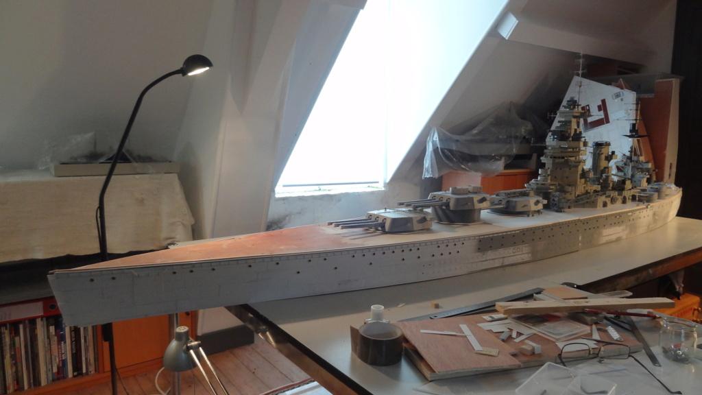 Des nouvelles d'un HMS Rodney au 1/72° - Page 4 Dsc07416
