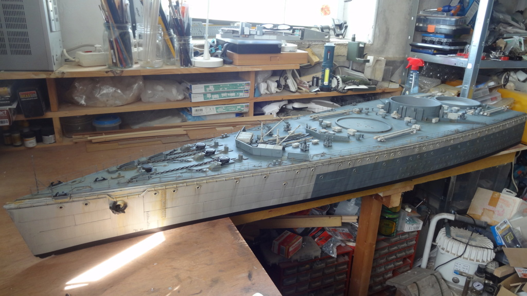Des nouvelles d'un HMS Rodney au 1/72° - Page 6 Dsc08118