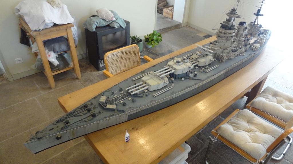 Des nouvelles d'un HMS Rodney au 1/72° - Page 7 Dsc08131