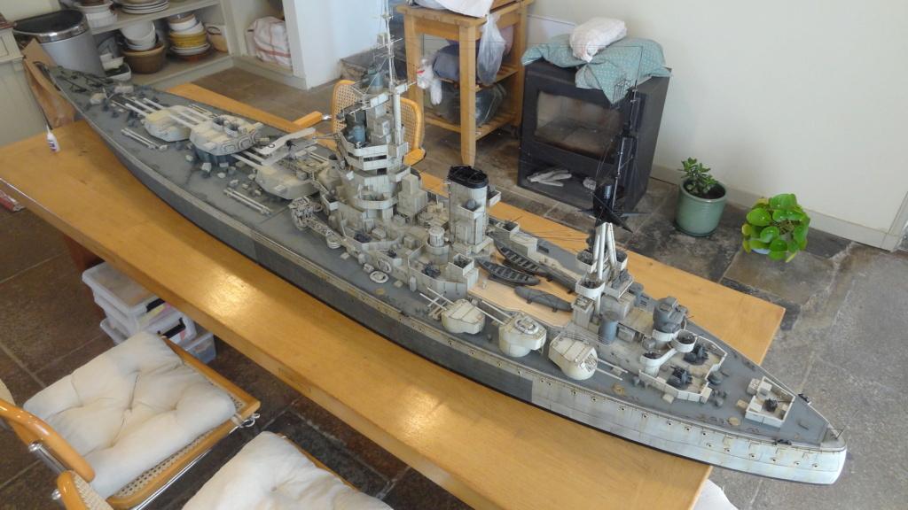 Des nouvelles d'un HMS Rodney au 1/72° - Page 7 Dsc08132