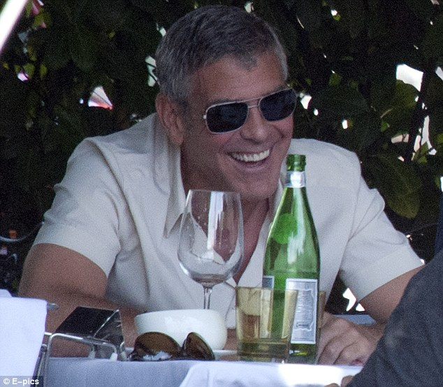 George Clooney Seen Smiling After Stacy Keibler Split--Just Jared Gc210