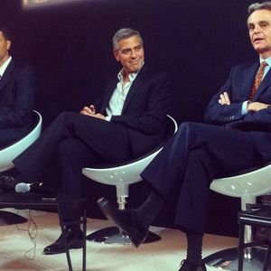 George Clooney on Fair Trade board for Nespresso Gc211