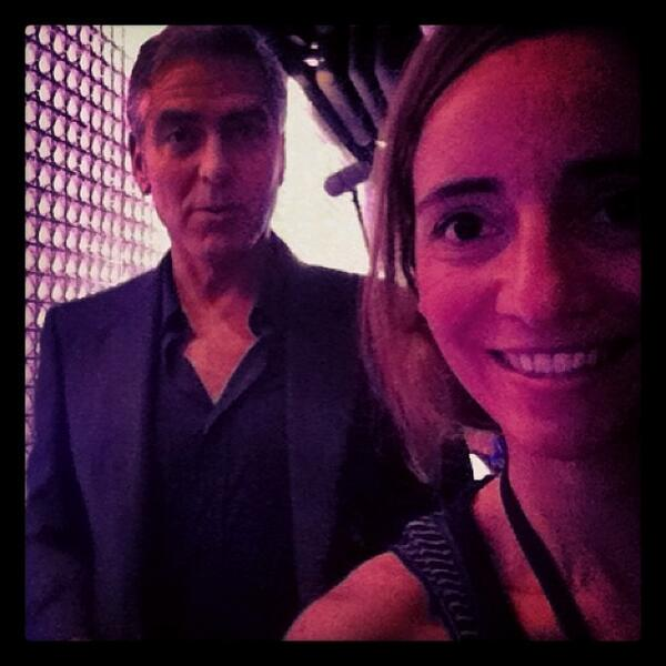 George Clooney on Fair Trade board for Nespresso Gc310