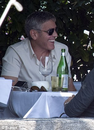George Clooney Seen Smiling After Stacy Keibler Split--Just Jared Gc510