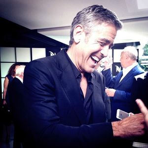 George Clooney on Fair Trade board for Nespresso Gc_110