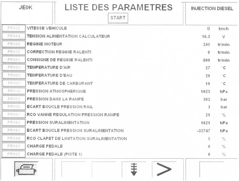 Recherche d'hypothèses panne calculateur Renault Espace III 2.2 dci phase 2 Caract12
