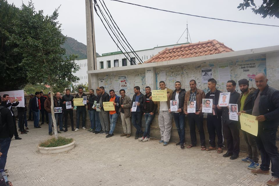 Rassemblement pour la libération de Merzouk Touati et tous les détenus d'opinion à Aokas le samedi 24 novembre 2018 à 10 h 30 1046