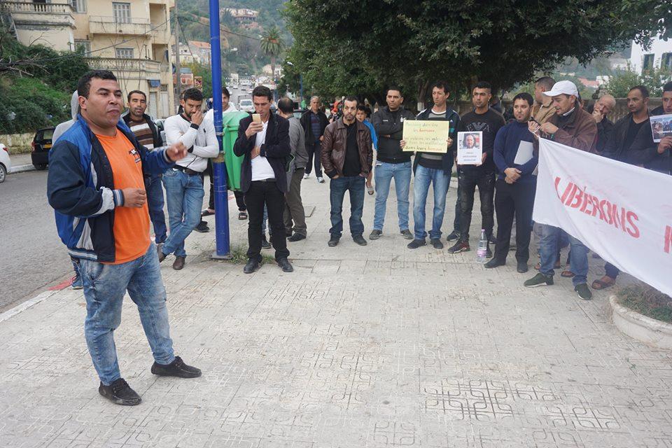 Rassemblement pour la libération de Merzouk Touati et tous les détenus d'opinion à Aokas le samedi 24 novembre 2018 à 10 h 30 1048