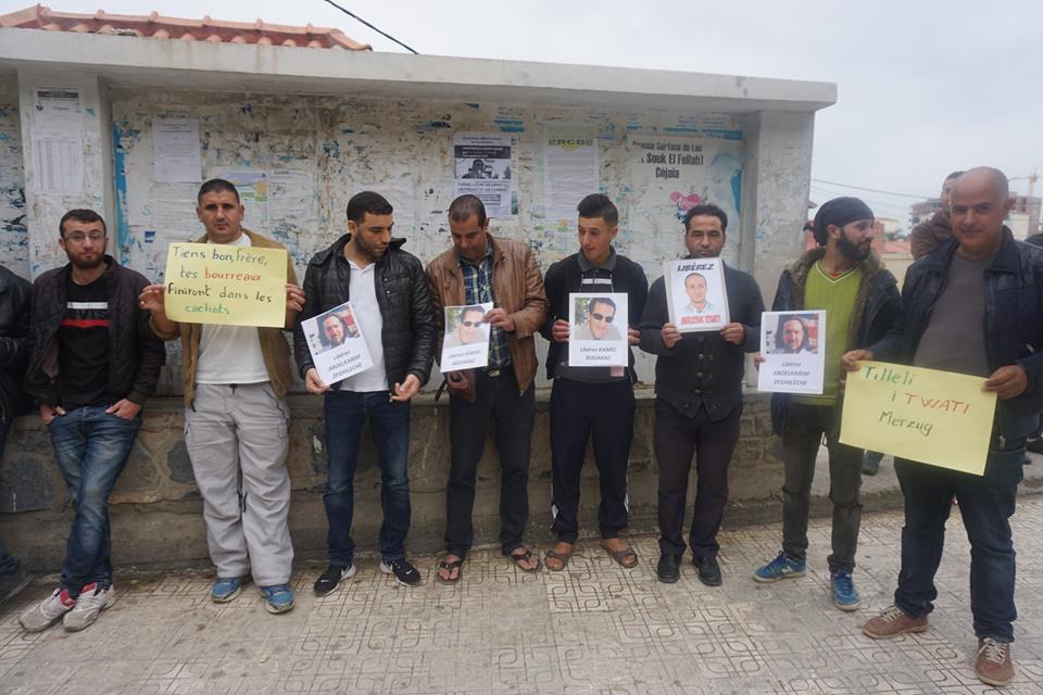 Rassemblement pour la libération de Merzouk Touati et tous les détenus d'opinion à Aokas le samedi 24 novembre 2018 à 10 h 30 1058