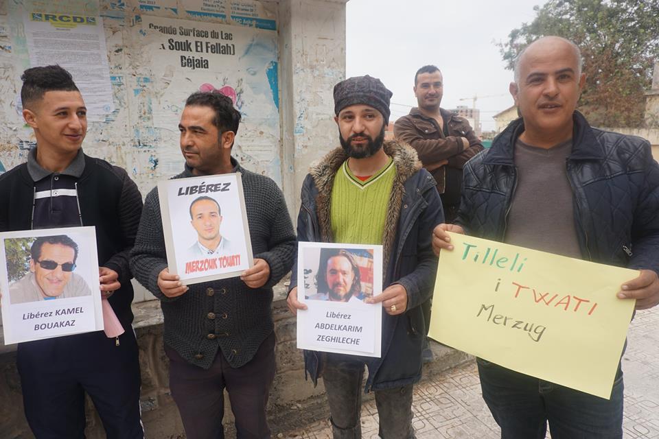 Rassemblement pour la libération de Merzouk Touati et tous les détenus d'opinion à Aokas le samedi 24 novembre 2018 à 10 h 30 1059