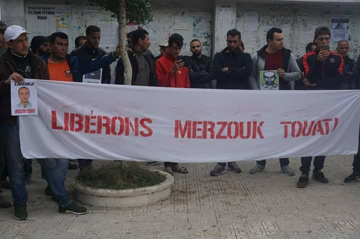Rassemblement pour la libération de Merzouk Touati et tous les détenus d'opinion à Aokas le samedi 24 novembre 2018 à 10 h 30 2010