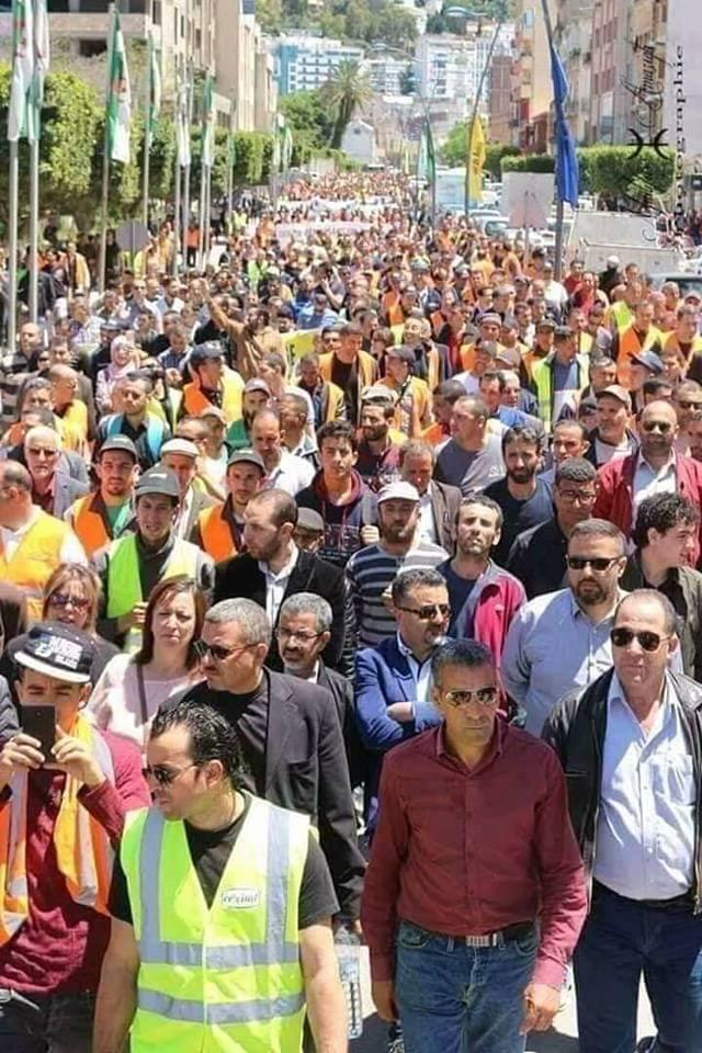 Marche populaire le Mardi 11 Décembre 2018, à Bèjaia, contre le blocage de Cevital ! 2021