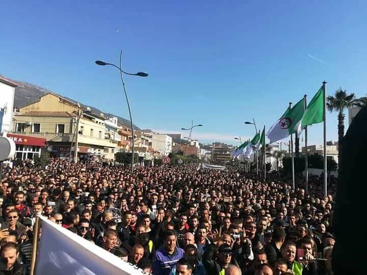 Marche populaire le Mardi 11 Décembre 2018, à Bèjaia, contre le blocage de Cevital ! 2022