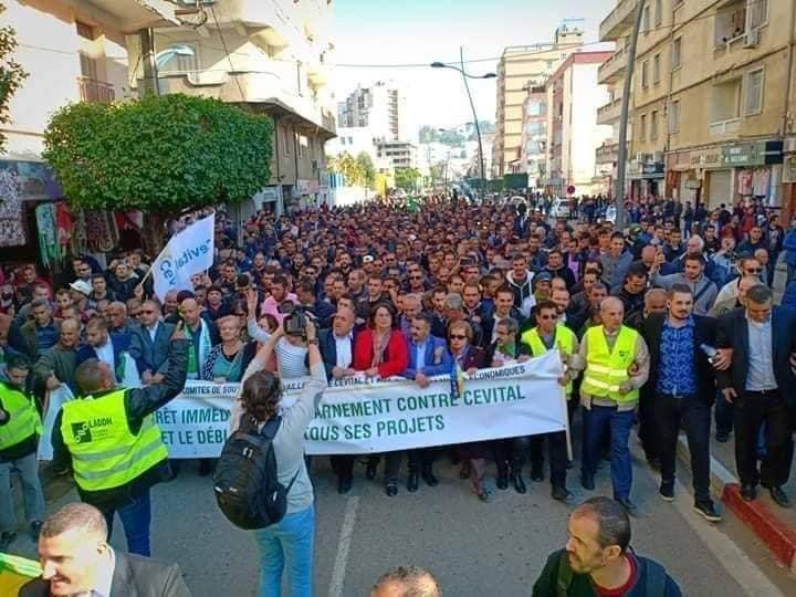 Marche populaire le Mardi 11 Décembre 2018, à Bèjaia, contre le blocage de Cevital ! 2024