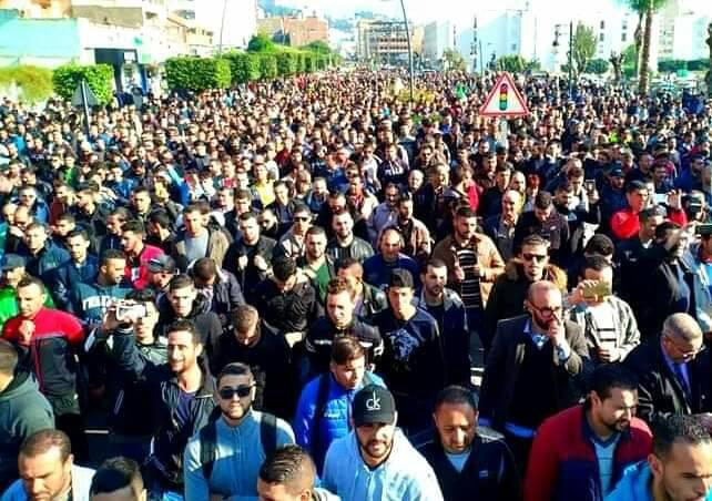 Marche populaire le Mardi 11 Décembre 2018, à Bèjaia, contre le blocage de Cevital ! 2027