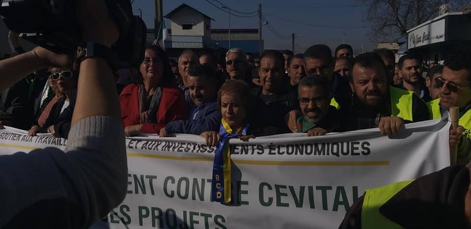 Béjaïa : une marée humaine dans la rue contre le blocage de Cevital le mardi 11 décembre 2018 2044