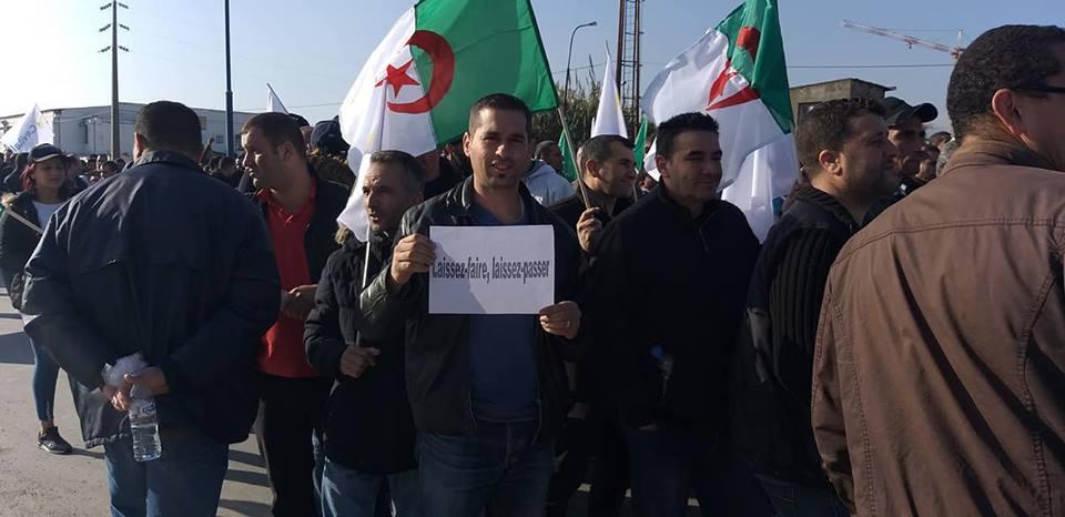 Béjaïa : une marée humaine dans la rue contre le blocage de Cevital le mardi 11 décembre 2018 2049