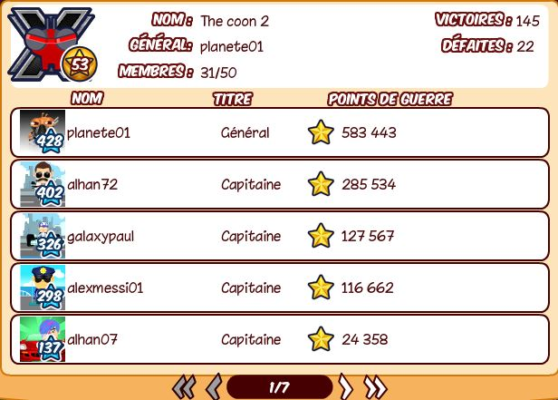 The coon 2 recrute Captur11