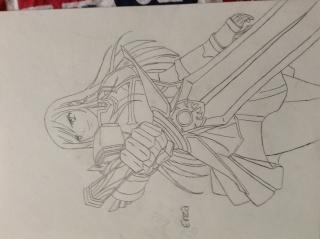 Tout mes mangas dessinés Img_0118