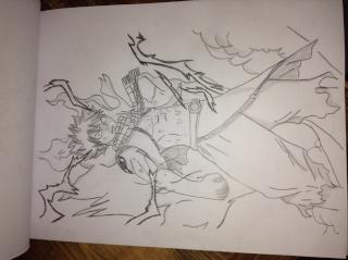 Tout mes mangas dessinés Img_0511