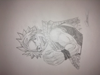 Tout mes mangas dessinés Img_0611