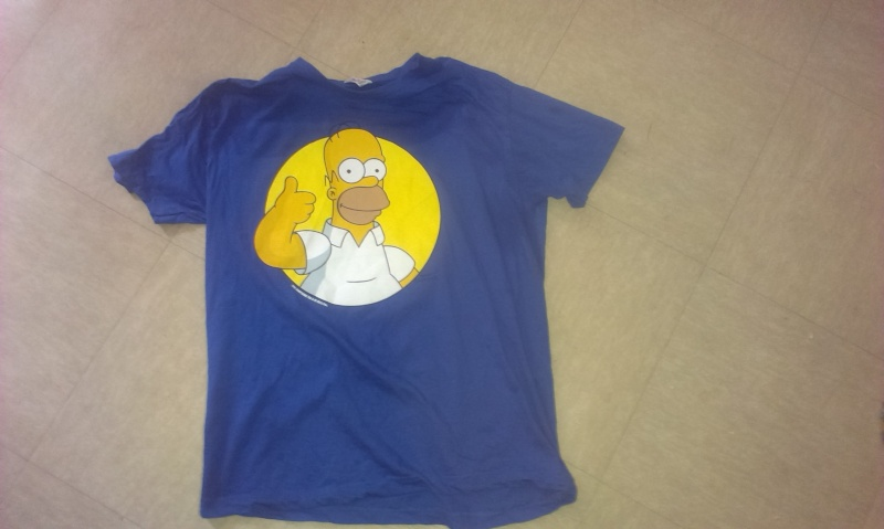 T-shirt Homer Simpson Quick 2013-011