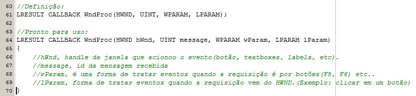 (Tutorial) WinAPI Eventos(pt2) Winpro11