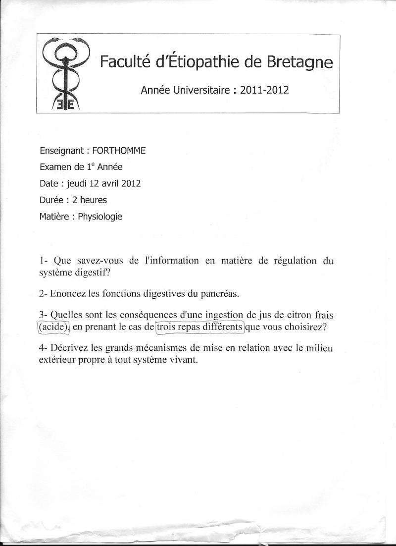 Rennes - 1ère année Chimie13