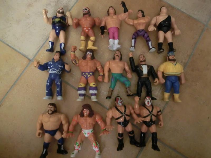 WRESTLING WWF action figures gig hasbro Cimg1010