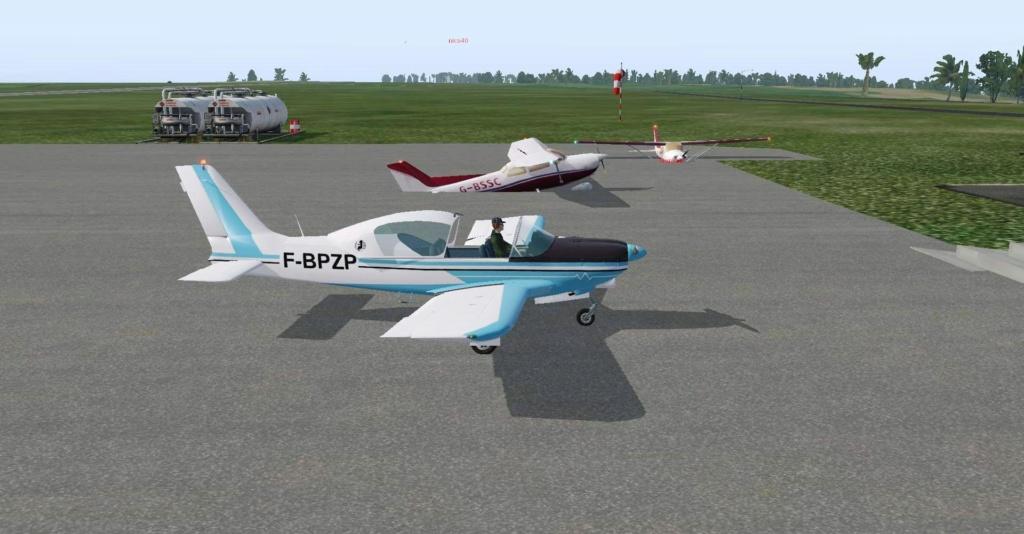 Compte rendu FSX-France Air Vintage Etape 92 1515