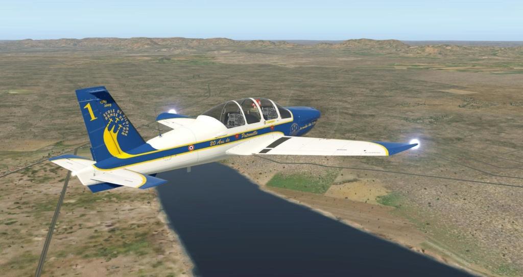 Compte-rendu FSX-France Air Vintage Etape 87 221