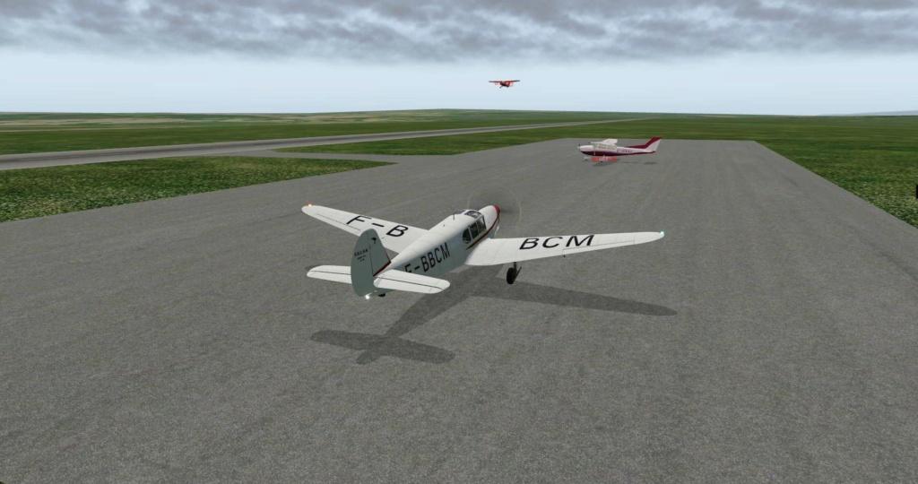 Compte-rendu FSX-France Air Vintage Etape 62 310