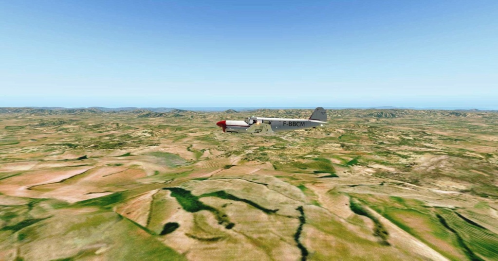 Compte-rendu FSX-France Air Vintage Etape 77 911