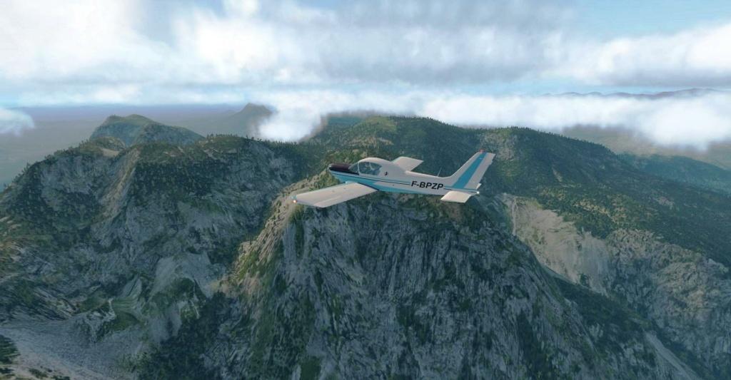 Compte rendu FSX-France Air Vintage Etape 95 912