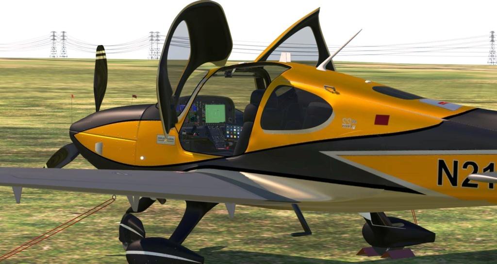 Cirrus SR22T G6 Released (Freeware) X-pla109