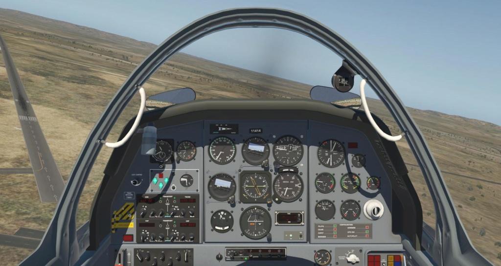 Compte-rendu FSX-France Air Vintage Etape 87 X-pla126