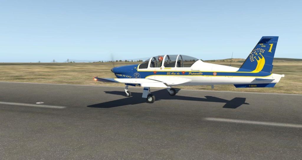 Compte-rendu FSX-France Air Vintage Etape 87 X-pla128