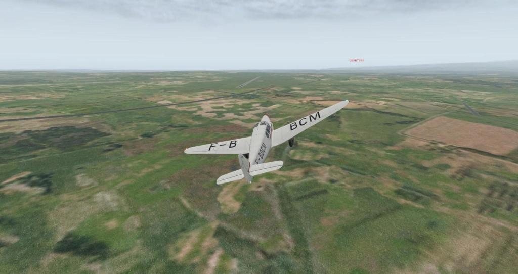 Compte-rendu FSX-France Air Vintage Etape 61 X-plan38