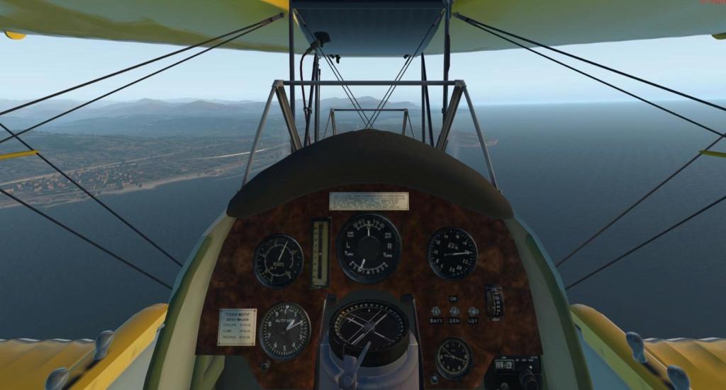 Le DH82 - Tiger Moth X-plan65