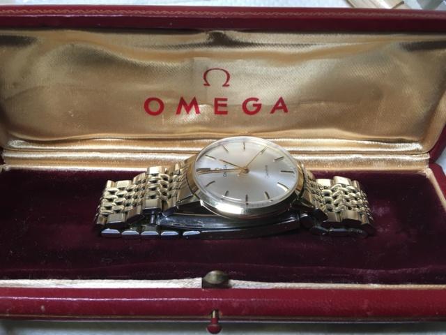 Omega Genève cal 601 70's or 18k  C6524a10