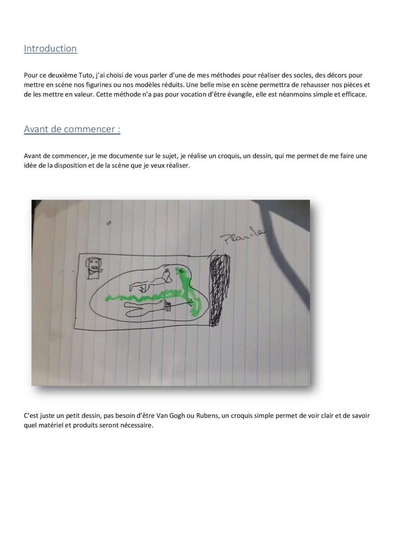 Création d'un socle. Crzoat11