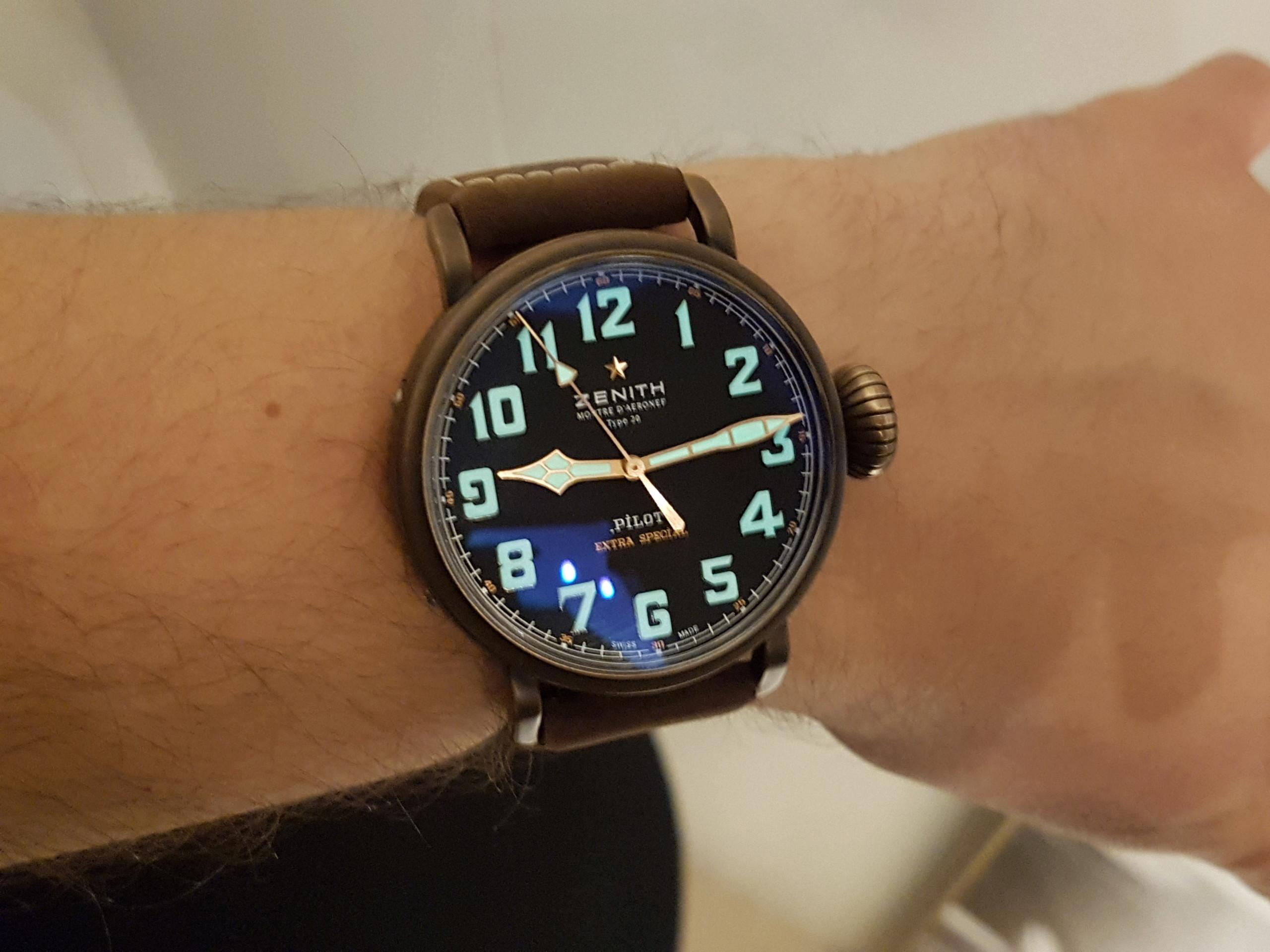 La montre de pilote par excellence - Pilot Type 20 Extra Special - Page 6 20180311