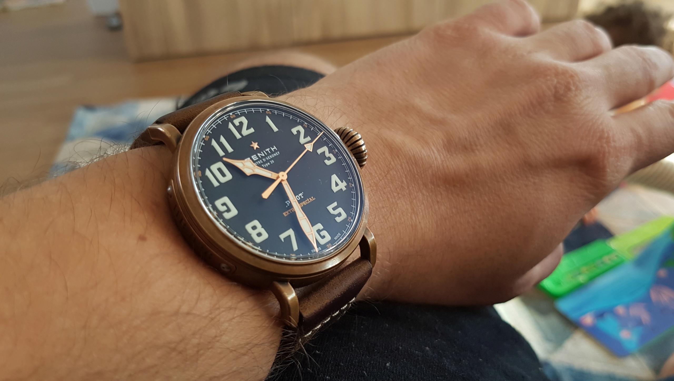 La montre de pilote par excellence - Pilot Type 20 Extra Special - Page 6 20190214