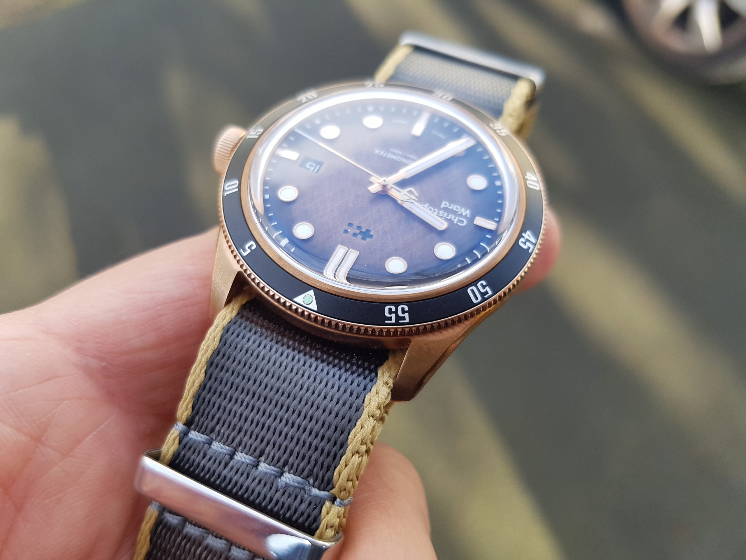 ward - [Revue] - Christopher Ward C65 Trident Bronze Ombre - Page 3 20200321