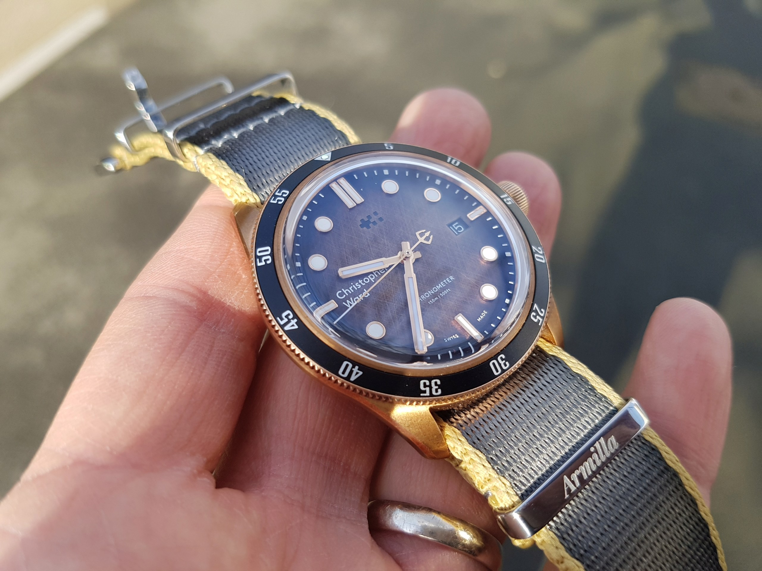 ward - [Revue] - Christopher Ward C65 Trident Bronze Ombre - Page 3 20200323