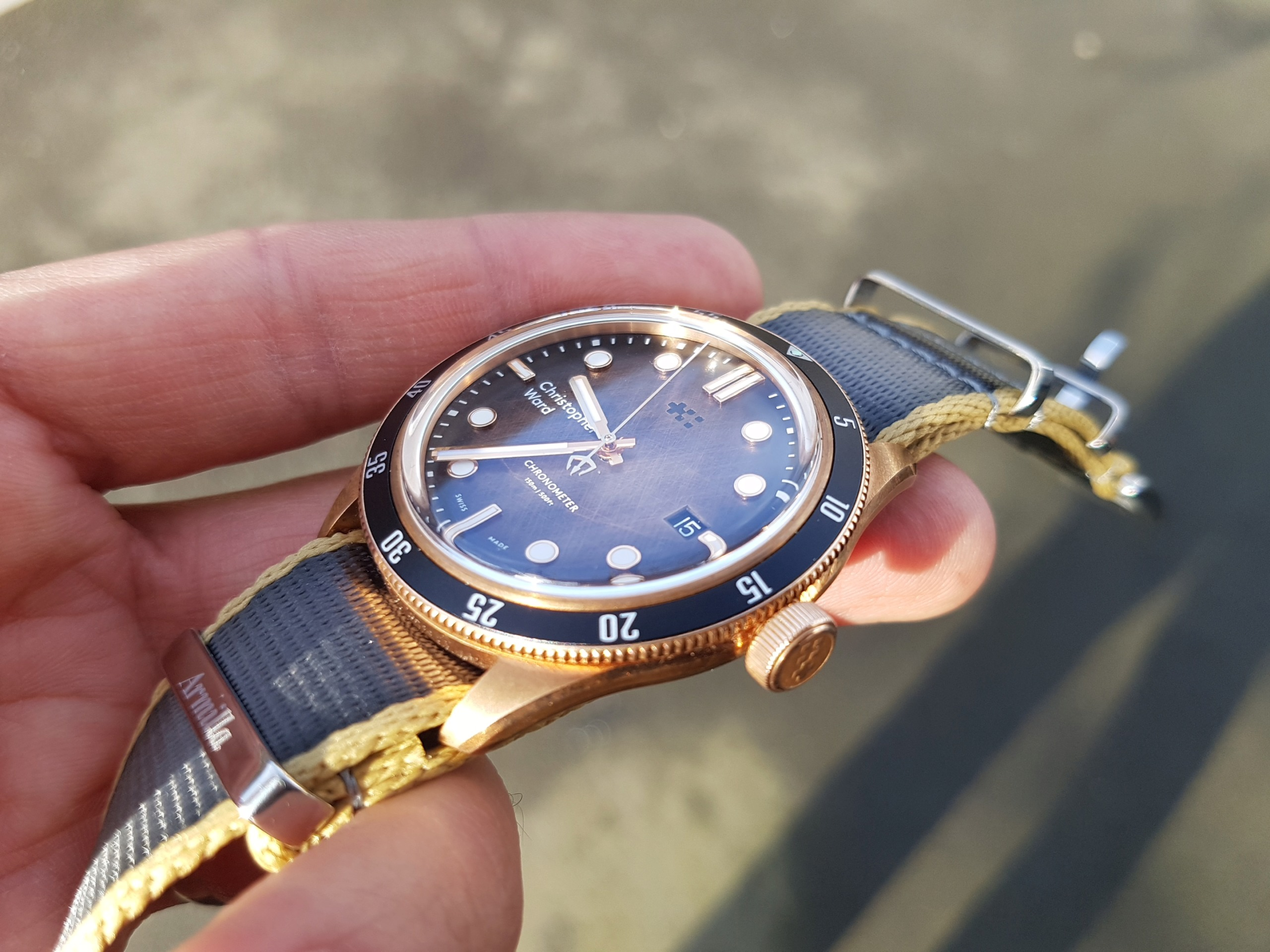 ward - [Revue] - Christopher Ward C65 Trident Bronze Ombre - Page 3 20200324