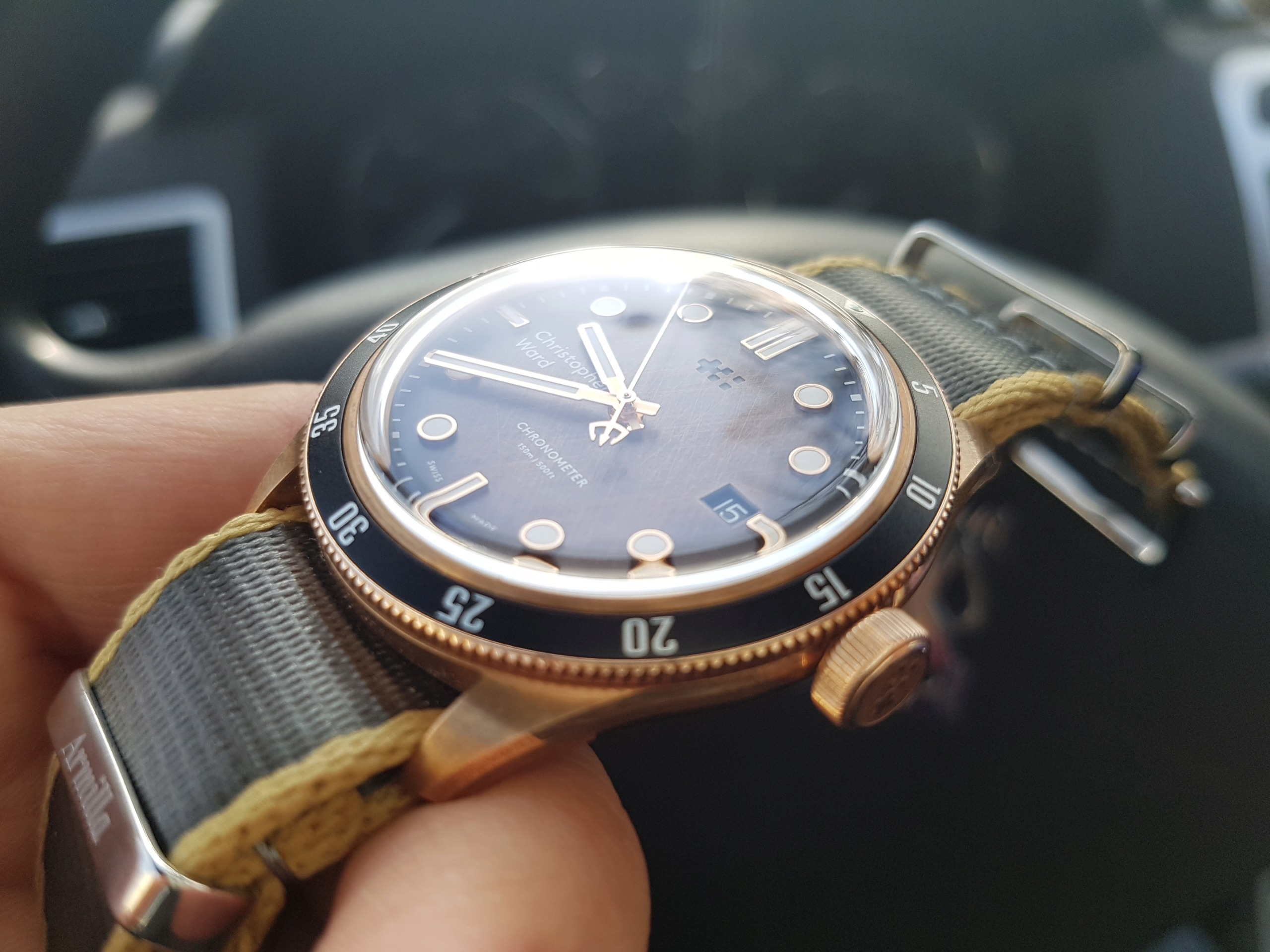 ward - [Revue] - Christopher Ward C65 Trident Bronze Ombre - Page 3 20200325